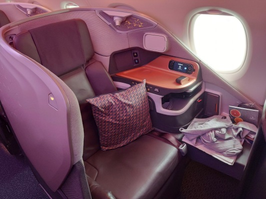 Singapore Airlines Business Class im A380