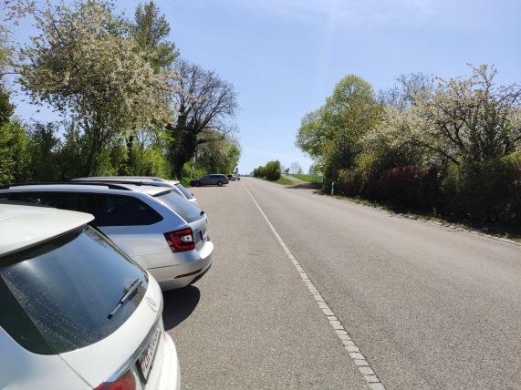 Parkplatz bei Kyburg